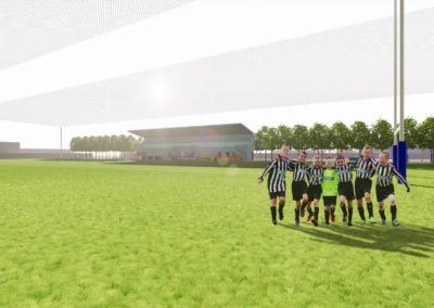 Football stand concept design for local Phuket based football team, by Phuket Home Solutions