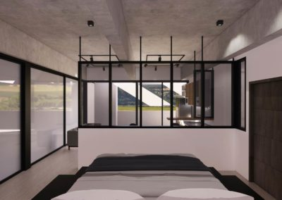 Bedroom concept design by Phuket Home Solutions