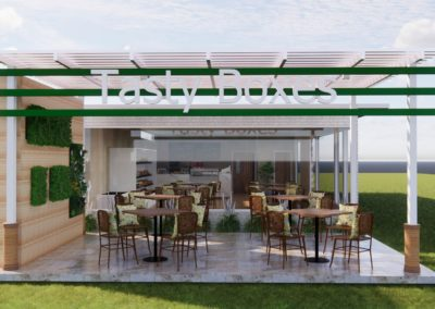 Tasty Boxes new restaurant concept design by Phuket Home Solutions