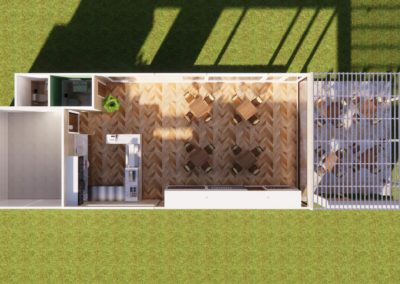Tasty Boxes, Phuket - Overview of the concept design of their new restaurant by PHuket Home Solutions